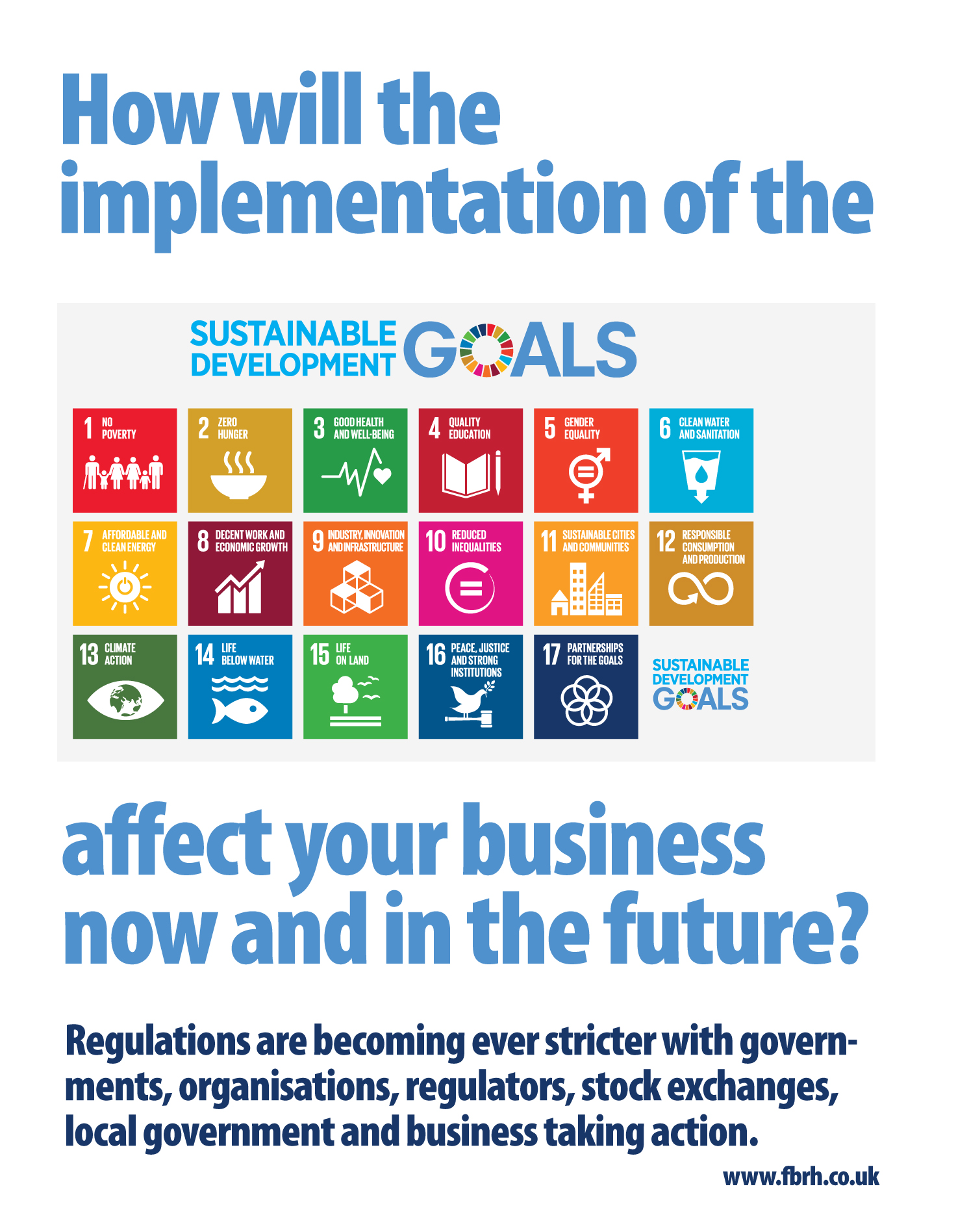 Implementation of the sustainable development goals sdgs